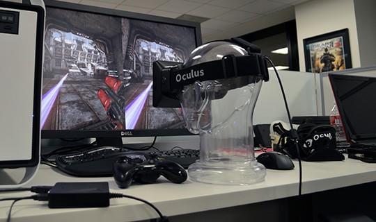 Oculus Rift - aktueller Prototyp (Bild: Oculus VR)