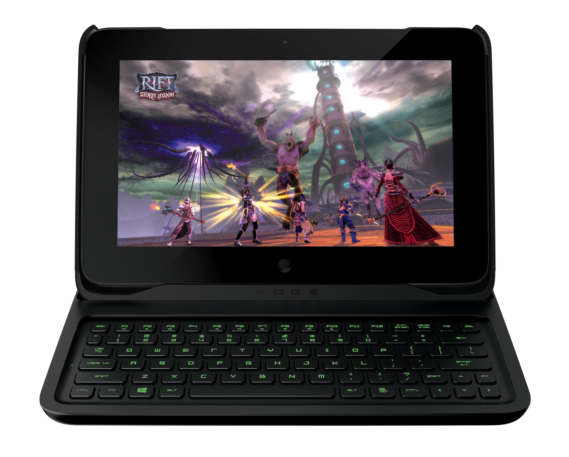 Razer Edge: Gaming-Tablet mit Controller, Keyboard und Dock angespielt -