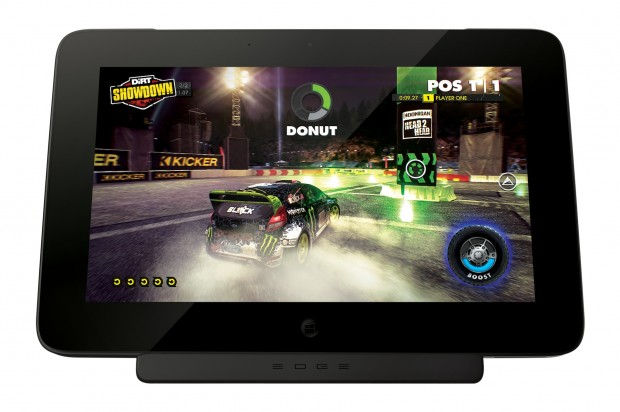 Razer Edge - machte mit Dirt Showdown... (Bild: Razer)