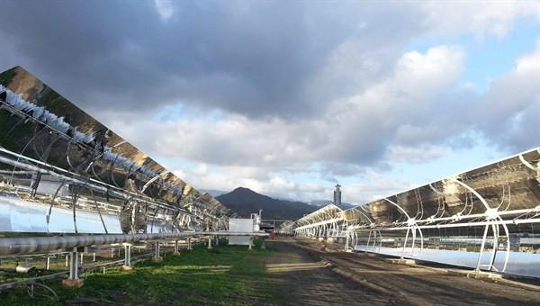 Solarthermische Testanlage Duke in Südspanien (Foto: DLR/CC-BY 3.0)