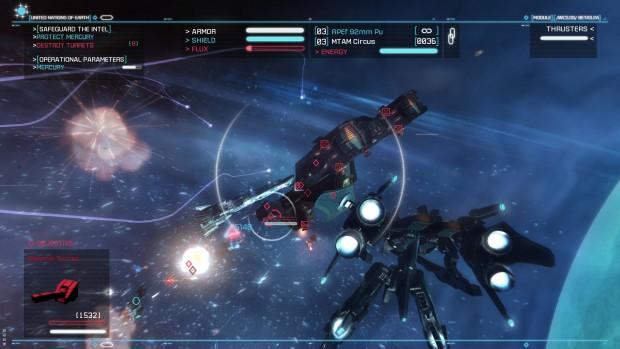 Strike Suit Zero (Screenshot: Born Ready)