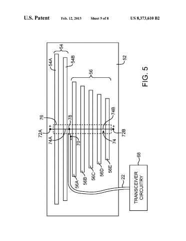 US-Patent 8,373,610 (Bild: US-Patent- und Markenamt)