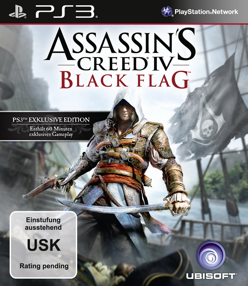 Black Flag: Piratenszenario für Assassin's Creed 4 bestätigt - Packshots von Assassin's Creed 4 (Bilder: Ubisoft)