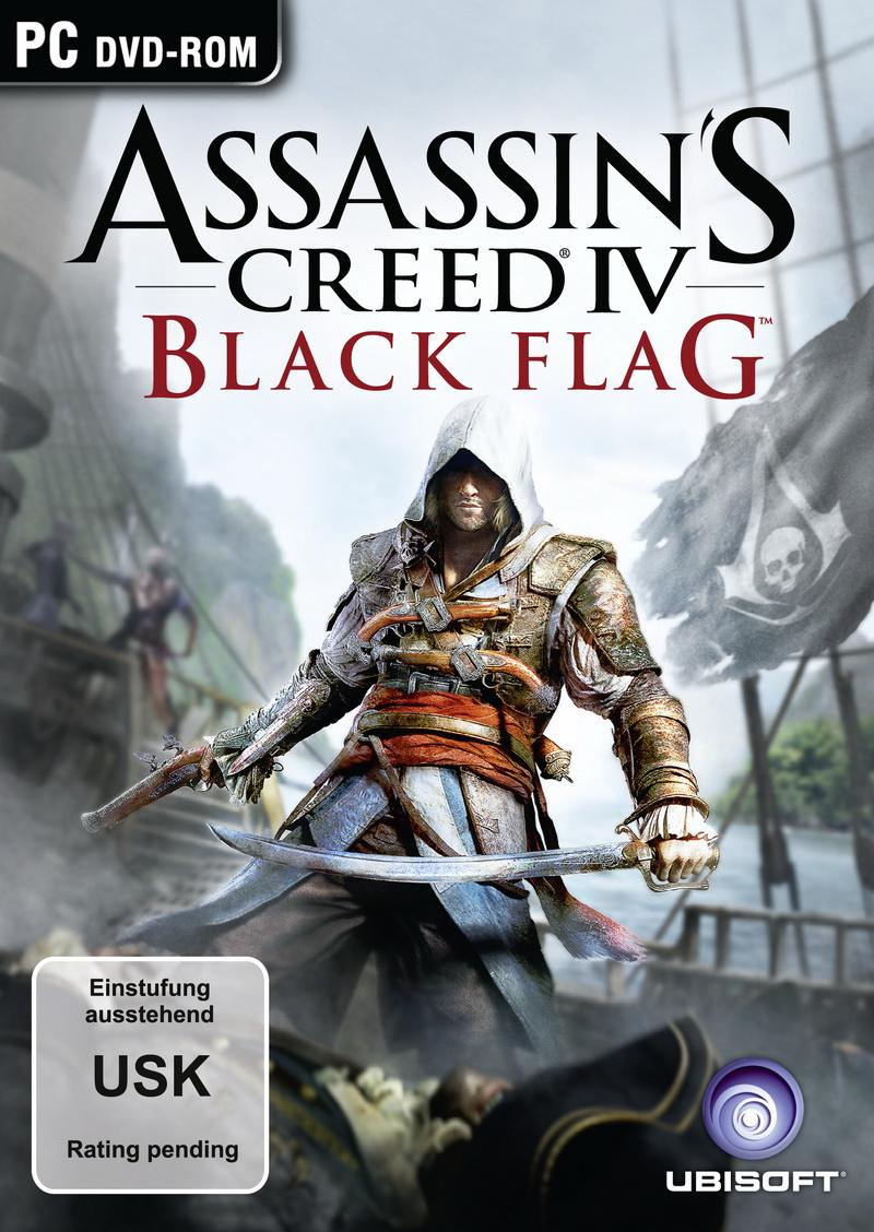 Black Flag: Piratenszenario für Assassin's Creed 4 bestätigt - Packshots von Assassin's Creed 4