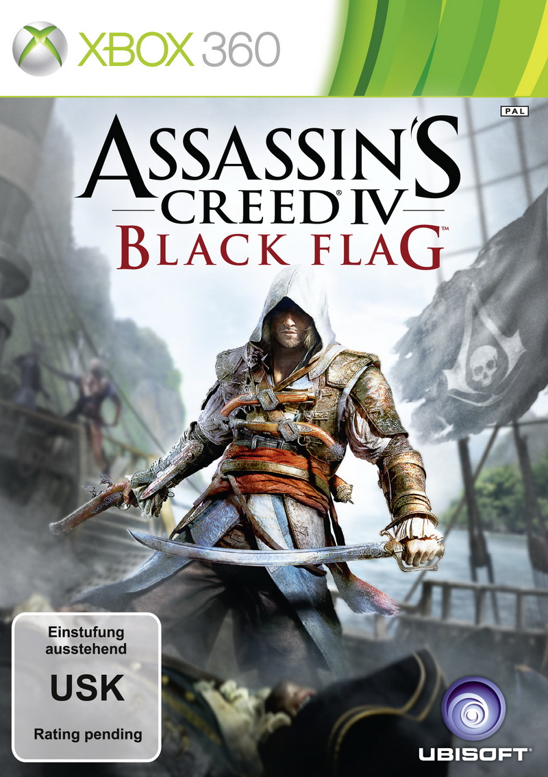 Black Flag: Piratenszenario für Assassin's Creed 4 bestätigt - Packshots von Assassin's Creed 4