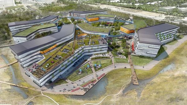 Google Bayview (Bild: NBBJ/Vanity Fair)