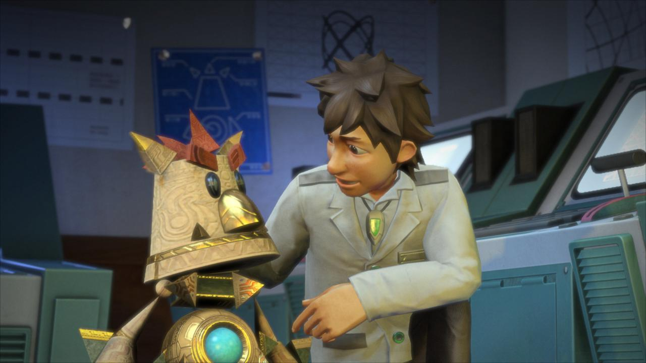 Knack: PS4-Chefentwickler arbeitet an eigenem Konsolenspiel - Knack (Bilder: Sony)