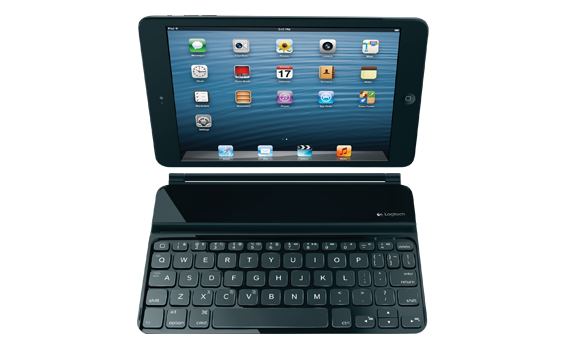 Ultrathin Keyboard Mini von Logitech am iPad Mini