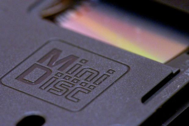 Die Minidisc wird im Unterschied zur verwandten MO-Disk mit einem c geschrieben. (Bild: Andreas Sebayang/Golem.de)