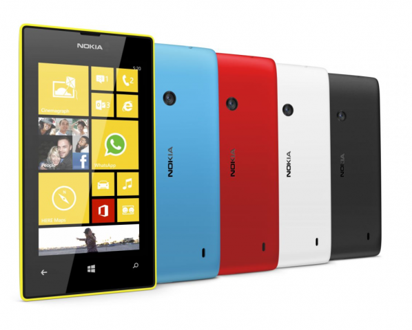 Lumia 520 (Bild: Nokia)