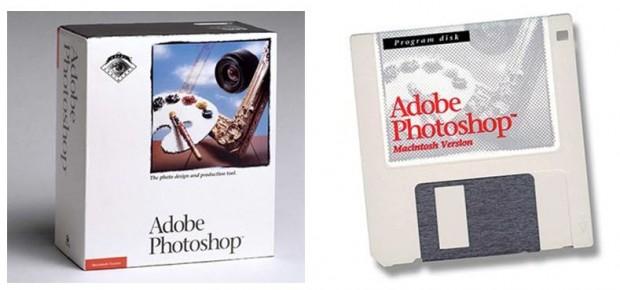 Adobe Photoshop 1.0 (Bild: Computer History Museum)