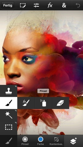 Photoshop Touch auf dem iPhone