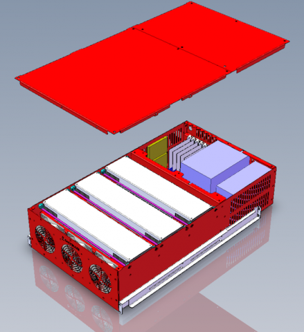 Backblaze Storage Pod 3.0 (Bild: Backblaze)