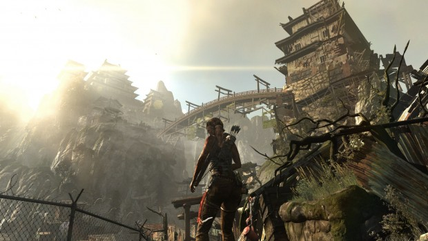 In einer Tempelanlage wartet der Widersacher auf Lara Croft... (Bilder: Square Enix)