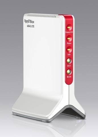 Fritzbox 6842 LTE - neuer LTE-Router von AVM unterstützt drei LTE-Frequenzbänder (Bild: AVM)