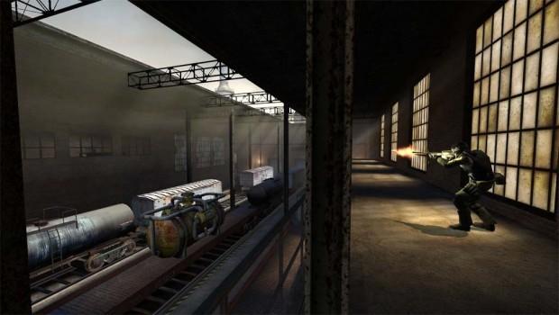 Counter-Strike: Source läuft auch unter Linux. (Bild: Valve)