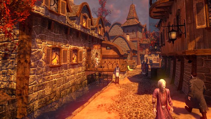 """""""Ein ordentliches Adventure"""": Dreamfall Chapters auf Kickstarter - Dreamfall Chapters - Ingame-Szene (Bild: Red Thread)"""