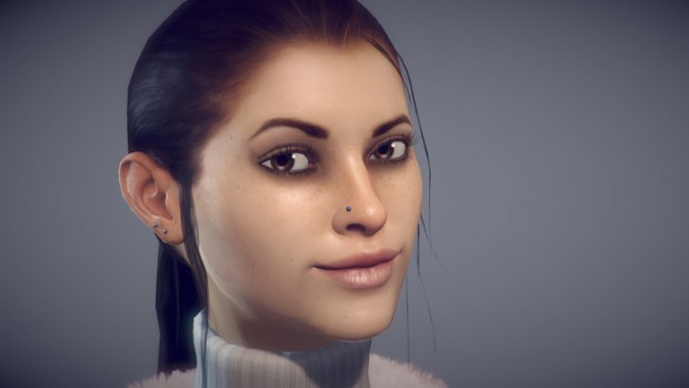 Dreamfall Chapters - so soll Zoë Castillo in der Ingame-Grafik aussehen. (Bild: Red Thread)