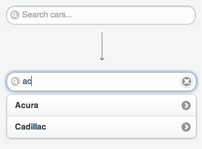 Listview-Filter mit Autocomplete