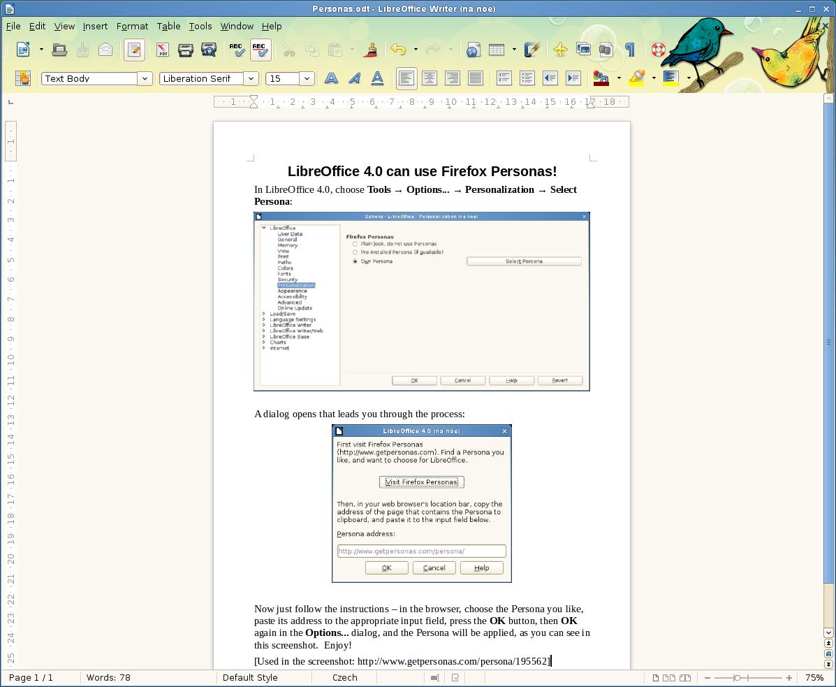 Freie Büroanwendung: Libreoffice 4.0 freigegeben -