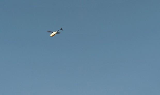 Minidrohne Black Hornet im Einsatz (Foto: Ministry of Defense)