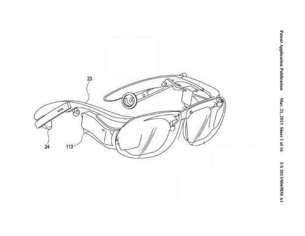 Sony-Patentantrag 20130069850 (Bild: US-Patent- und Markenamt)