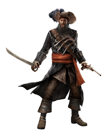 Rendergrafik Blackbeard