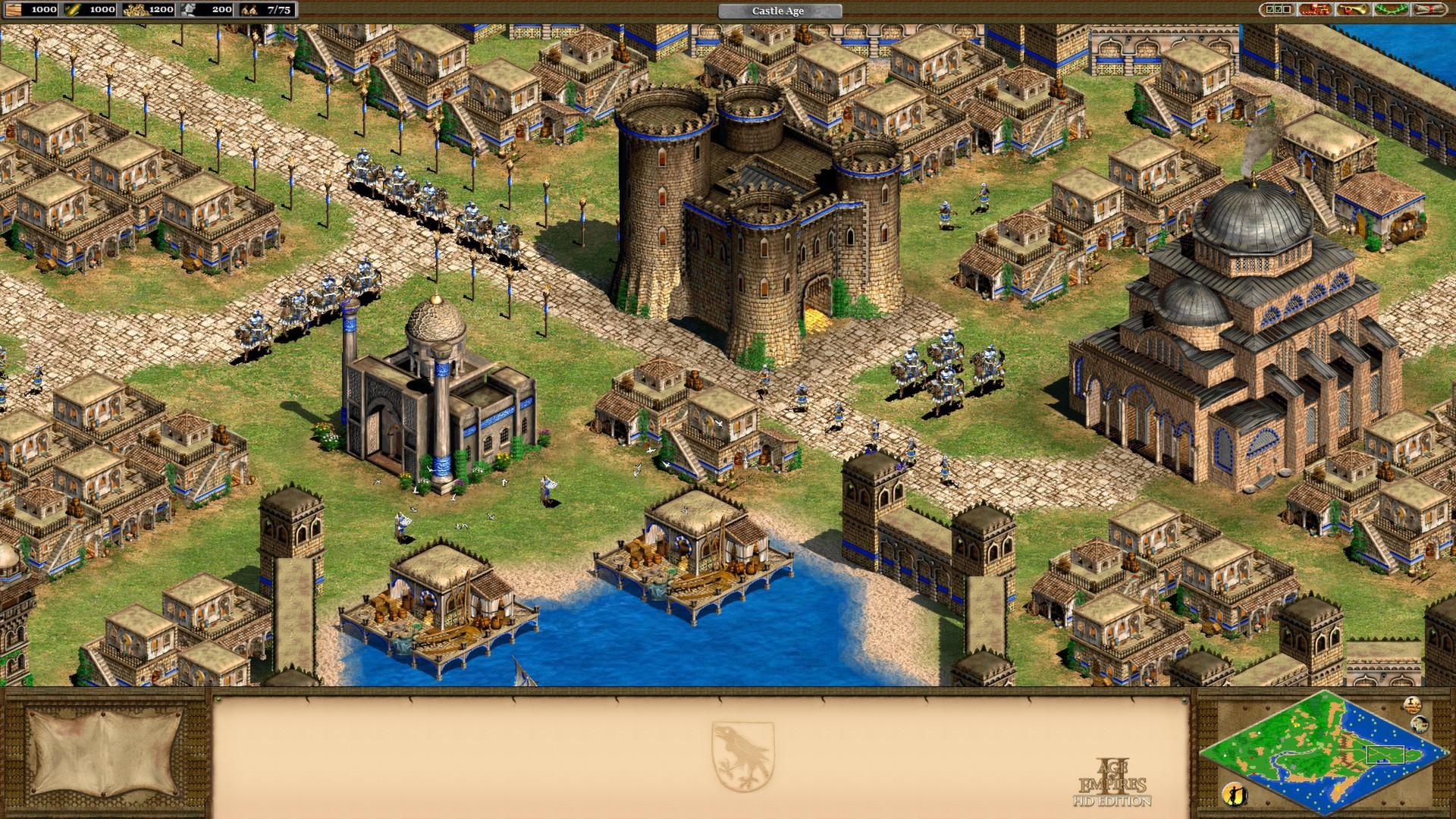 Test Age of Empires 2 HD: Zeitloser Klassiker bleibt pixelig - Age of Empires 2 HD Edition