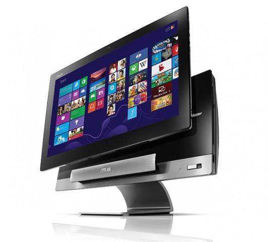 Asus Transformer AiO - All-in-One-PC mit Windows 8 und Riesentablet mit Android 4.1 in einem