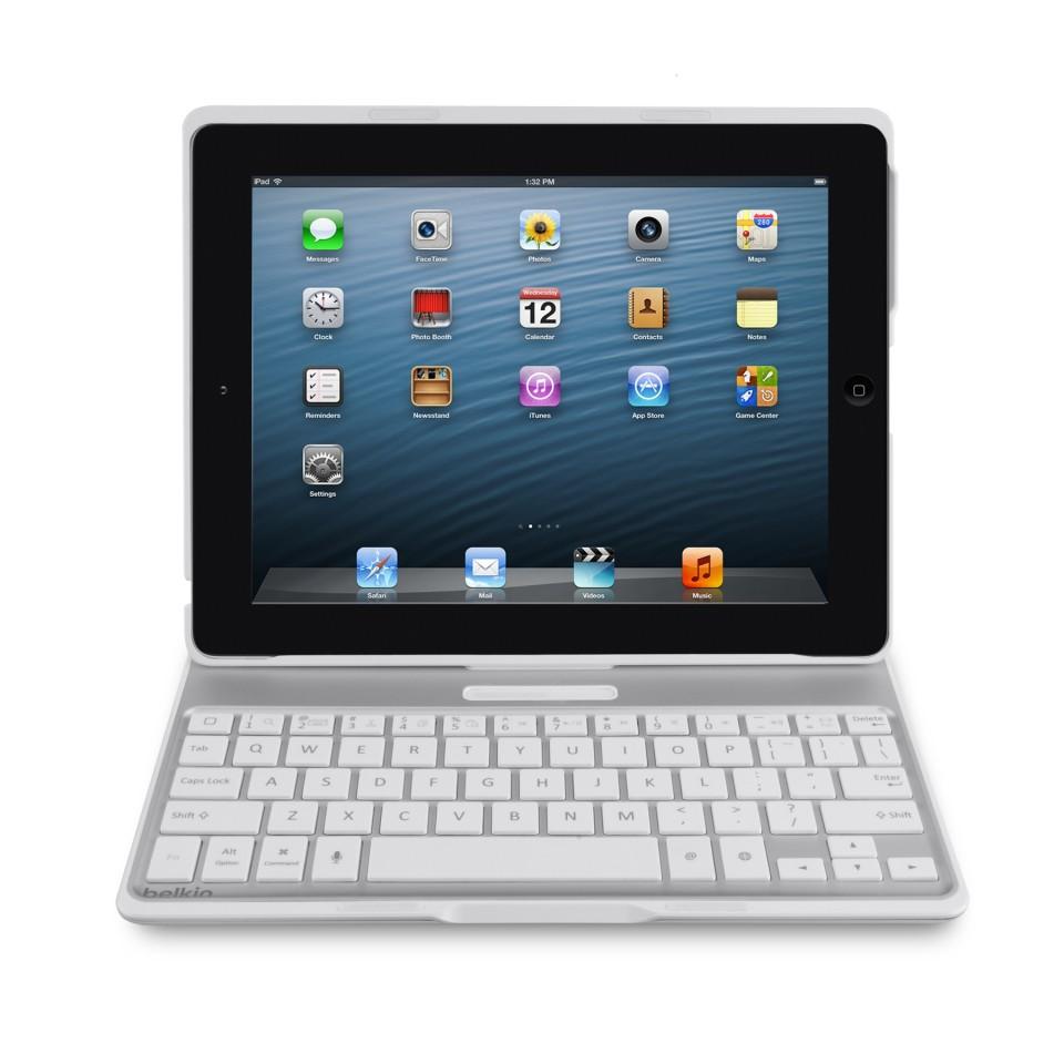 Belkin Ultimate: Metalltastaturhülle für das iPad - Belkin Ultimate Keyboard Case (Bild: Belkin)