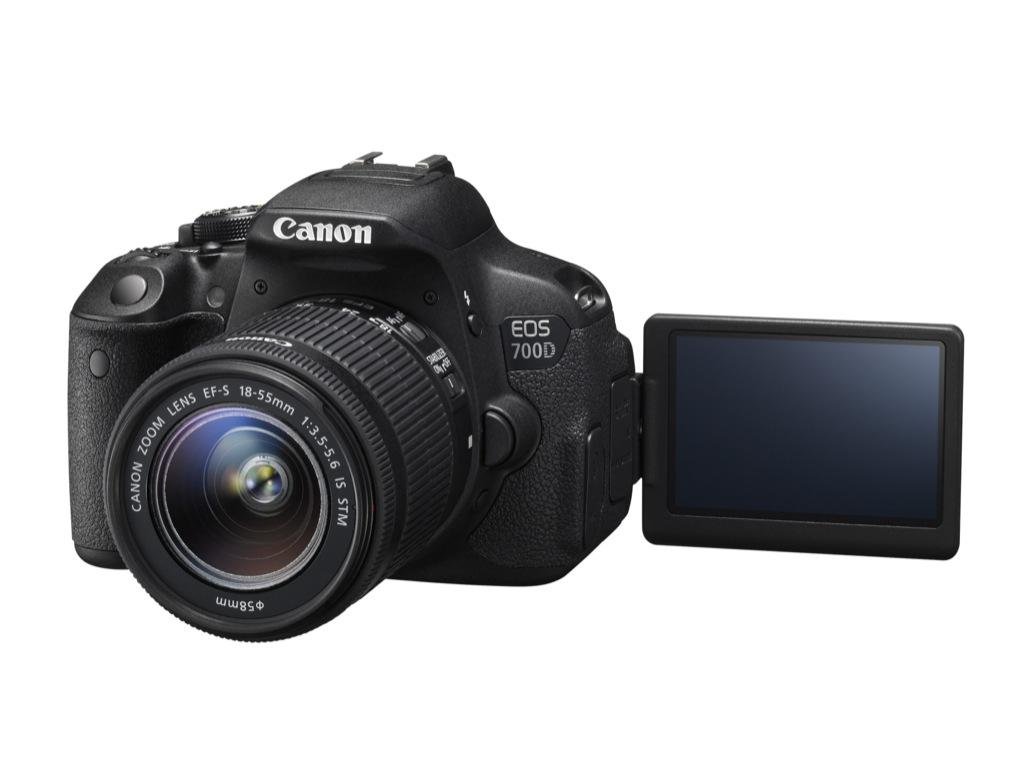 Canon-DSLR: EOS 700D mit bescheidenen Neuerungen - Canon EOS 700D (Bild: Canon)