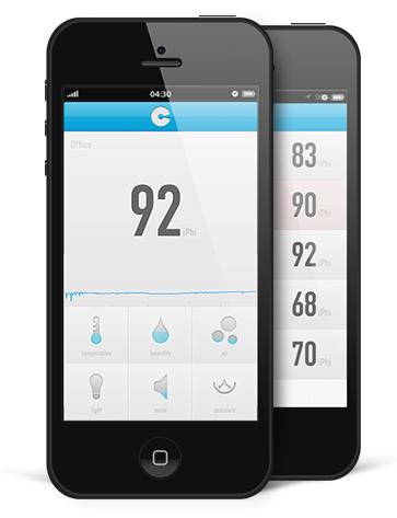 Cubesensors-App (Bild: Cubesensors)