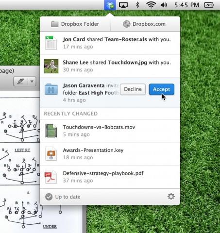 Dropbox 2.0 (Bild: Dropbox)