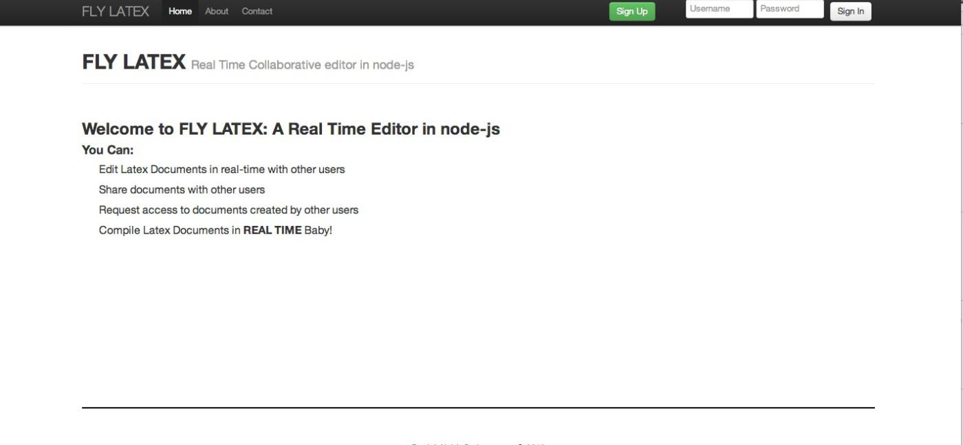 Flylatex: Freier und kollaborativer Online-Editor für LaTeX - Flylatex von Daniel Alabi (Bild: Daniel Alabi)