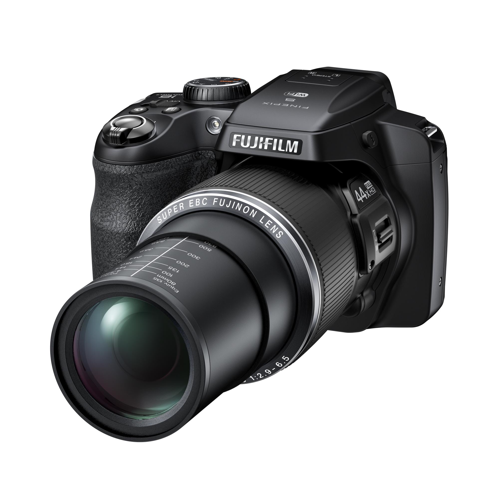 Fujifilm: 44fach-Zoom in Bridgekamera mit WLAN - Fujifilm Finepix S8400W (Bild: Fujifilm)