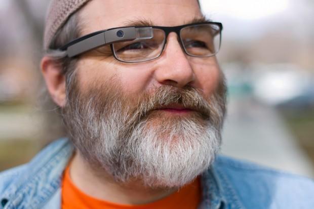 Google Glass für Brillenträger (Bild: Google)