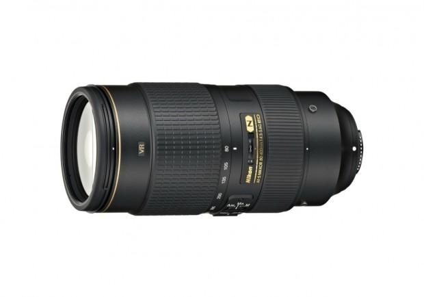 Nikon AF-S Nikkor 80-400 mm 1:4,5-5,6G ED VR (Bild: Nikon)
