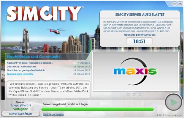 Knapp 20 Minuten Wartezeit: Überlastete Server sind derzeit das größe Problem des Spiels.