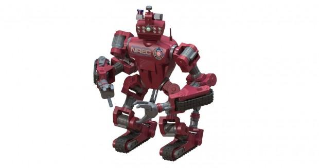 Der humanoide Roboter Chimp sieht ein wenig nach Science Fiction aus. (Bild: CMU/Tartan Rescue)