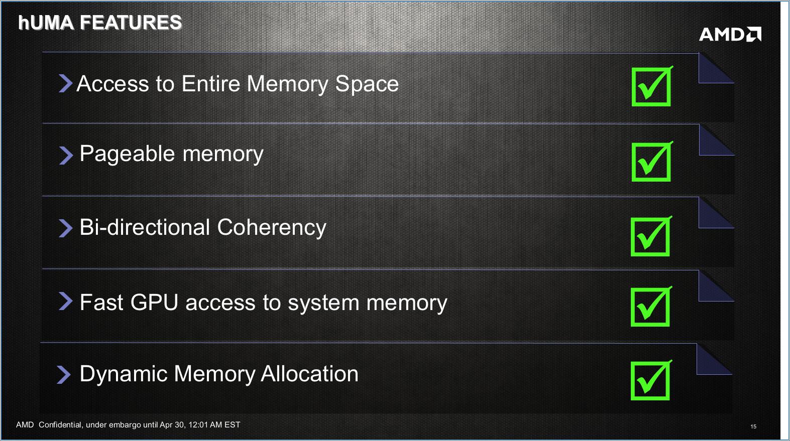 Huma: Gemeinsamer Speicher für CPU und GPU nicht nur für PS4 -