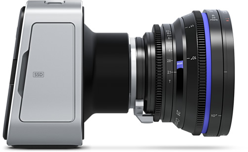 Blackmagic: 4K-Videokamera mit SSD-Speicherung für 4.000 US-Dollar - Blackmagic Production Camera 4K (Bild: Blackmagic)