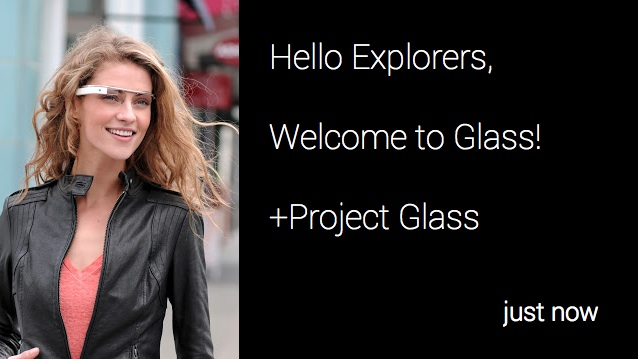 """Quellcode für Google Glass: """"Macht was Verrücktes damit"""" - Beispiele aus dem Mirror API Playground"""