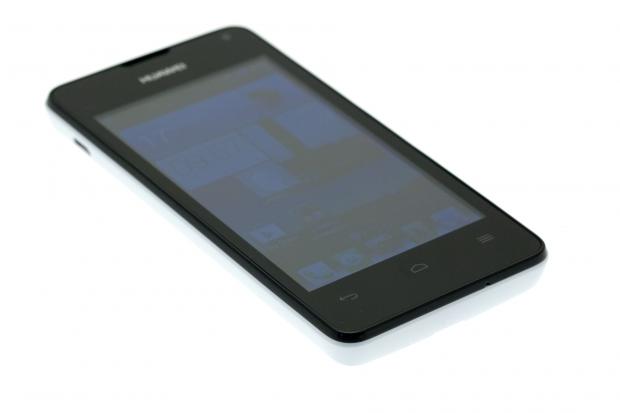 Das Smartphone hat ein 4 Zoll großes Display. (Bild: Golem.de)