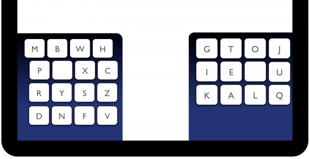 Kalq-Tastatur (Bild: Max-Planck-Institut für Informatik)