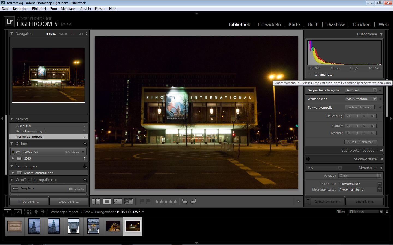 Fotobearbeitung: Adobe Lightroom 5 ist fertig -