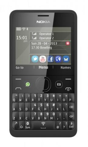 Asha 210 in der Dual-SIM-Ausführung (Bild: Nokia)