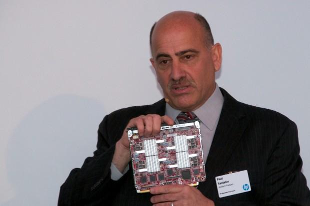 HPs Modul mit vier Intel-SoCs (Foto: Andreas Sebayang/Golem.de)
