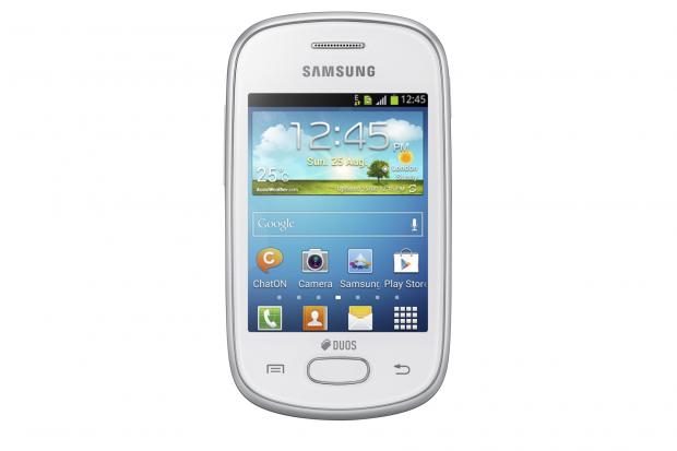Das neue Galaxy Star von Samsung hat einen 3 Zoll großen Bildschirm. (Bild: Samsung)