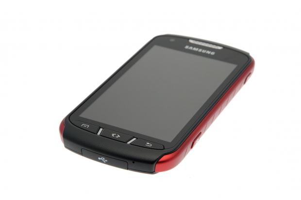 Das Xcover 2 von Samsung (Foto: Nina Sebayang/Golem.de)