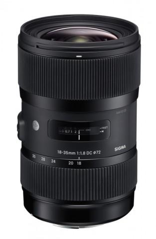 Sigma 18-35mm F1,8 DC HSM (Bild: Sigma)
